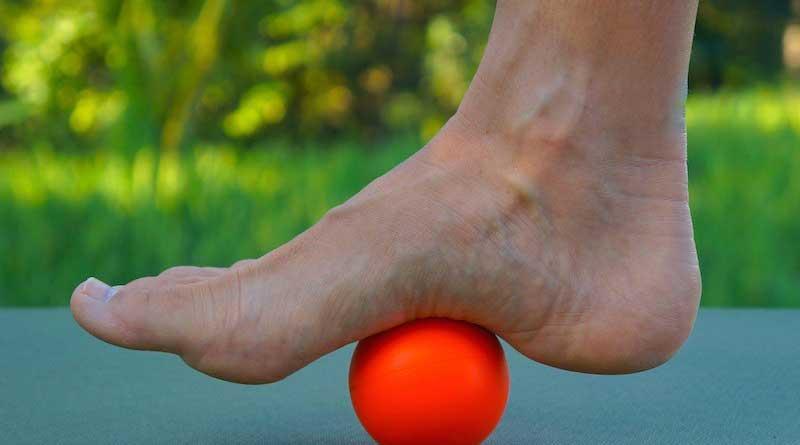 pilates para os pés